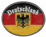 Deutschland Oval Belt Buckle with display stand (LE2)
